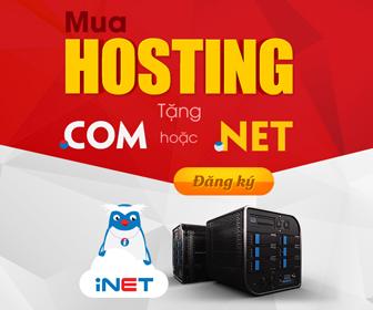 mua hosting tặng tên miền quốc tế